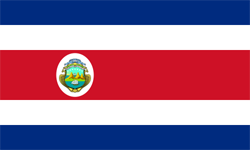 the flag of Costa Rica